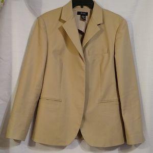 Body by Victoria Tan Stretch Blazer Jacket Size 10